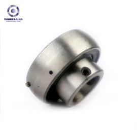 SUNBEARING وسادة كتلة تحمل UC203 الفضة 17 * 47 * 31 مم كروم فولاذ GCR15