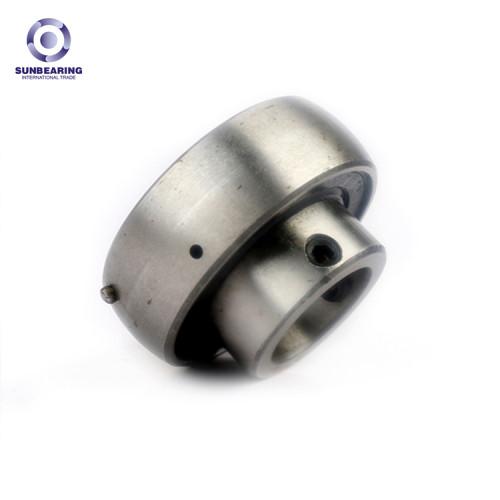 SUNBEARING Cojinete de bloque Cojinete UC203 Plata 17 * 47 * 31 mm Acero al cromo GCR15