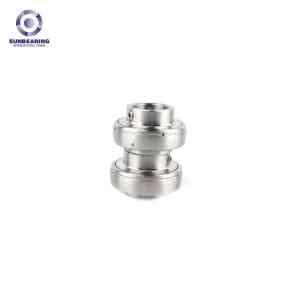 SUNBEARING Опорный подшипник скольжения UC204 Серебро 20 * 47 * 31 мм Хромированная сталь GCR15