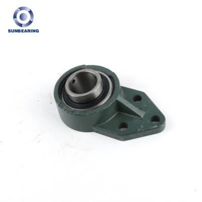 SUNBEARING وسادة كتلة ، وإذ تضع UCFB205 الأخضر 25 * 116 * 34.1mm الكروم الصلب GCR15