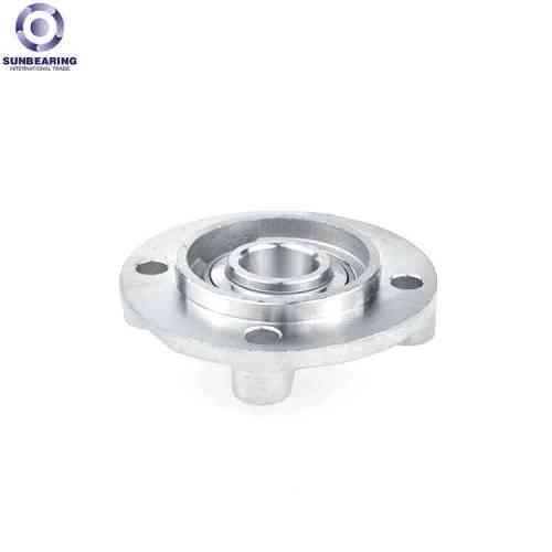 SUNBEARING وسادة كتلة تحمل UCFC213 الفضة 65 * 205 * 65.1mm GCR15 الفولاذ المقاوم للصدأ