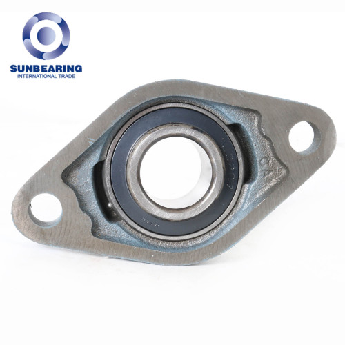 SUNBEARING وسادة كتلة تحمل UCFL208 الأزرق 40 * 175 * 49.2mm الكروم الصلب GCR15
