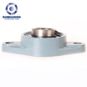SUNBEARING Cojinete de bloque de almohada UCFL208 Azul 40 * 175 * 49.2 mm Acero al cromo GCR15