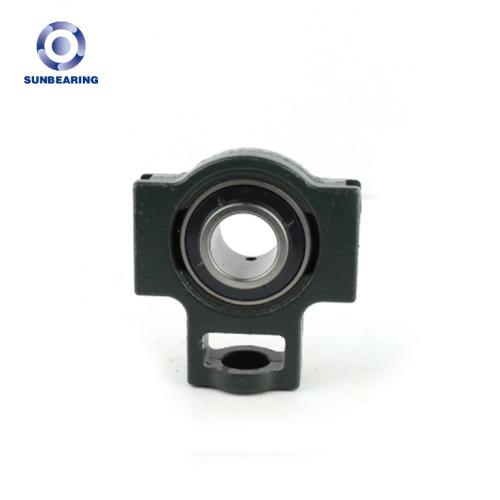 SUNBEARING Cojinete de bloque de almohada UCT204 Verde 20 * 89 * 31 mm Acero al cromo GCR15