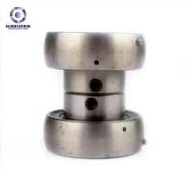 SUNBEARING وسادة كتلة ، وإذ تضع UEL209 فضة 40 * 85 * 56.3mm الكروم الصلب GCR15