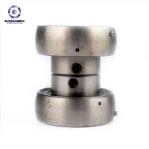SUNBEARING Подушка Блок подшипника UEL209 серебро 40 * 85 * 56.3mm Хром сталь GCr15