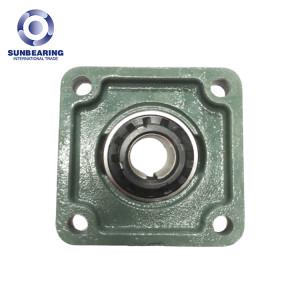 SUNBEARING UKF206 Опорный подшипник скольжения, 25 мм, хромированная сталь GCR15, зеленый