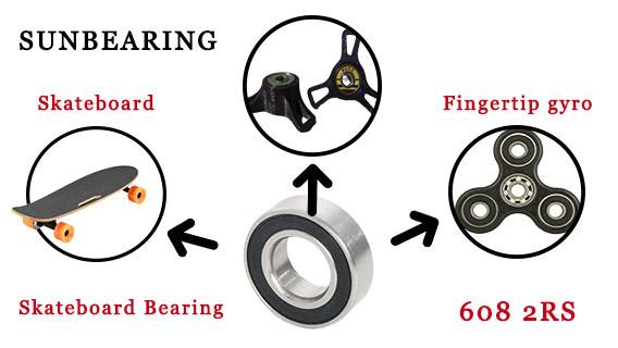 608 bearing skateboard
