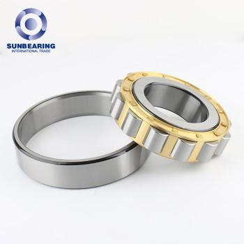 NU204 Cylindrical Roller Bearing Silver 20*47*14mm Chrome Steel GCR15 SUNBEARING