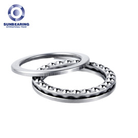 51308 Single Direction Thrust Ball Bearing 40*78*26mm SUNBEARING