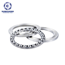 51203-A Thrust Ball Bearing Single Direction 17*35*12mm Chrome Steel GCR15 SUNBEARING