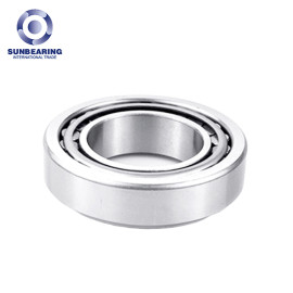 SUNBEARING 32004 Tapered Roller Bearing Silver 20*42*15mm Chrome Steel GCR15