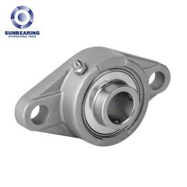 UFL002 Oval Bearing Eccentric Collar Locking Two-Bolt 15*67*17.5mm SUNBEARING