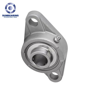 UFL001 Cast Housed Bearing 12*63*16mm Zinc Alloy SUNBEARING
