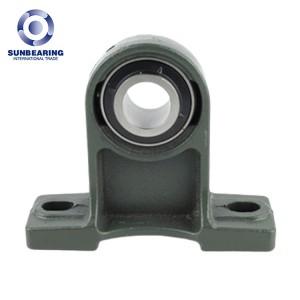 SUNBEARING UCPH208 Pillow Block Bearing Green 40*100*49.2mm Chrome Steel GCR15