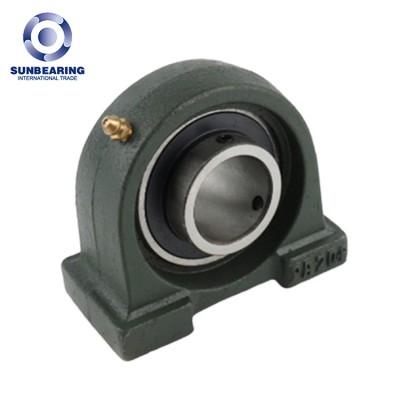 SUNBEARING وإذ تضع وسادة كتلة UCPA203 الأخضر الداكن 17 * 30.2 * 76mm الكروم الصلب GCR15