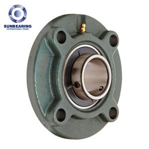 UCFC208 4 Bolts Round Bearing Green 40*145*49.2mm Cast Iron SUNBEARING