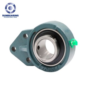 SUNBEARING UCFB205 Pillow Block Bearing Green 25*116*34.1mm Chrome Steel GCR15