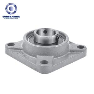 SUNBEARING UCF315 Pillow Block Bearing Grey 75*236*82mm Chrome Steel GCR15
