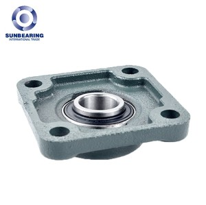 UCF205 Metric Four Bolt Bearing Unit 25*95*35.3mm Cast Iron SUNBEARING