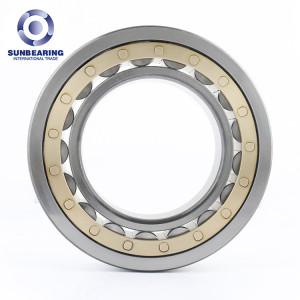 SUNBEARING NF214 Cylindrical Roller Bearing Silver 70*125*24mm Chrome Steel GCR15