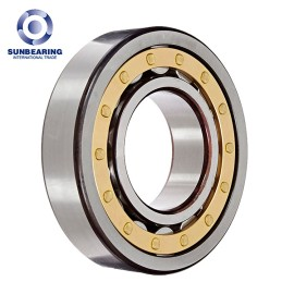 NU206EM Cylindrical Roller Bearing 30*62*16mm for Mining Machinery SUNBEARING