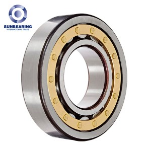 SUNBEARING NF314 Cylindrical Roller Bearing Silver 70*150*35mm Chrome Steel GCR15