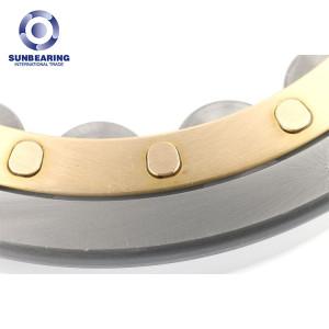 SUNBEARING NJ322ECJ Cylindrical Roller Bearing Silver 110*240*50mm Chrome Steel GCR15
