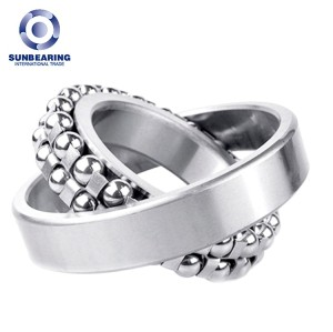 SUNBEARING 1315 Silver 75*160*37mm Chrome Steel GCR15 Self Aligning Ball Bearing