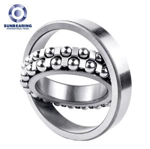 SUNBEARING 1218 Silver 90*160*30mm Chrome Steel GCR15 Self Aligning Ball Bearing