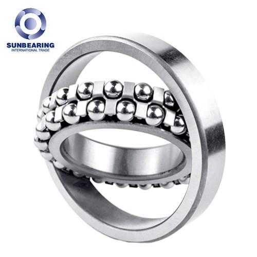SUNBEARING 1307 Silver 35*80*21mm Chrome Steel GCR15 Self Aligning Ball Bearing