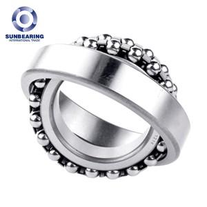 SUNBEARING 2211 Silver 55*100*25mm Chrome Steel GCR15 Self Aligning Ball Bearing