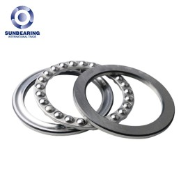 SUNBEARING 51206 Thrust Ball Bearing Silver 30*52*16mm Chrome Steel GCR15