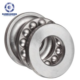 SUNBEARING 51201 Thrust Ball Bearing Silver 12*28*11mm Chrome Steel GCR15