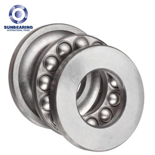 SUNBEARING 51107 Thrust Ball Bearing Silver 30*47*11mm Chrome Steel GCR15