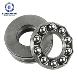 SUNBEARING 51200 Thrust Ball bearing Silver 10*26*11mm Chrome Steel GCR15