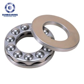 SUNBEARING 51104 Thrust Ball Bearing Silver 20*35*10mm Chrome Steel GCR15