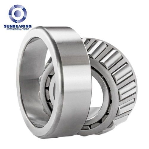 SUNBEARING أسطواني مدبب 32004 فضي 20 * 42 * 15 ملم كروم فولاذ GCR15