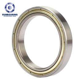 16011 Single Row Deep Groove Radial Ball Bearing 55*90*11mm Chrome Steel SUNBEARING
