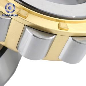 SUNBEARING NU204 Cylindrical Roller Bearing Silver 20*47*14mm Chrome Steel GCR15