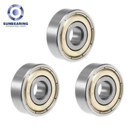 SUNBEARING 627 zz Deep Groove Ball Bearing 7*22*7mm Silver Chrome Steel GCR15