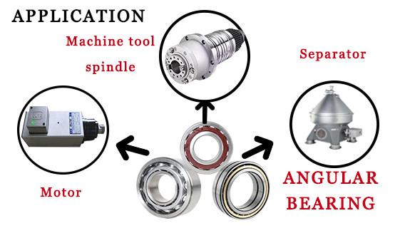 angular contact ball bearing application