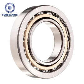 7222BDB Single Row Angular Contact Ball Bearing 110*200*38mm Chrome Steel SUNBEARING