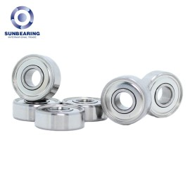 694 ZZ Miniature Ball Bearing Silver 5*13*4mm SUNBEARING
