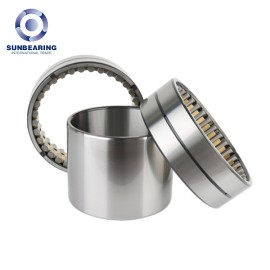 SUNBEARING Cylindrical Roller Bearing FC182870 Yellow and Silver 90*140*70mm Chrome Steel GCR15