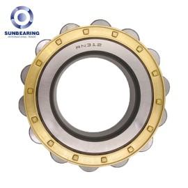 SUNBEARING Cylindrical Roller Bearing RN312M Yellow 60*113*31mm Chrome Steel GCR15