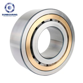 SUNBEARING Cylindrical Roller Bearing NU203 Yellow 17*40*12mm Chrome Steel GCR15