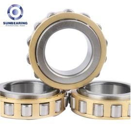 SUNBEARING Cylindrical Roller Bearing RN206 Yellow 30*53.5*16mm Chrome Steel GCR15
