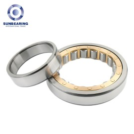 SUNBEARING Cylindrical Roller Bearing NU209 Yellow and Silver 45*85*19mm Chrome Steel GCR15