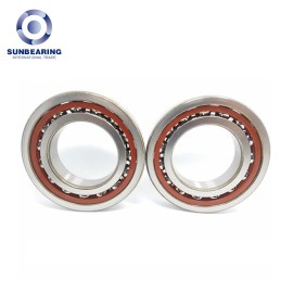 SUNBEARING 7207CT Angular Contact Ball Bearing Silver 35*72*17mm Chrome Steel GCR15